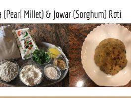 BAJRA (PEARL MILLET) & JOWAR (SORGHUM) ROTI recipe by Monika Singhania