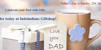 Indoindians Weekly Newsletter: Order Today for Father's Day