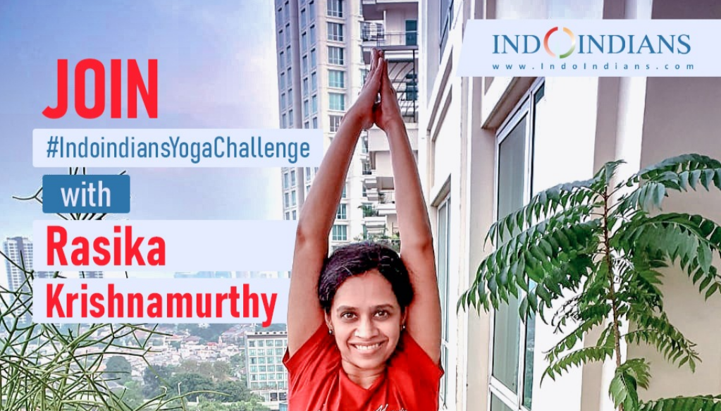Join the 7 day Indoindians Yoga Challenge