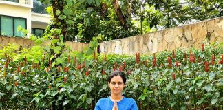 #IndoindiansYogaChallenge Day 6: PADMASANA- Lotus pose