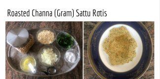 Sattu Roti by Monika Singhania