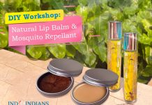 DIY Lip Balm and Mosquito Repellent with Rita Srivastava