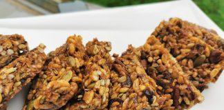 Healthy Granola Bar by Minel Kamdar