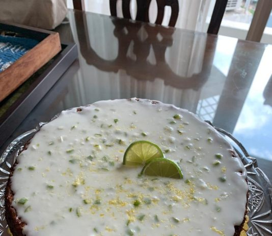 Lime n Lemon Eggless Cake by Pawani Bhalla