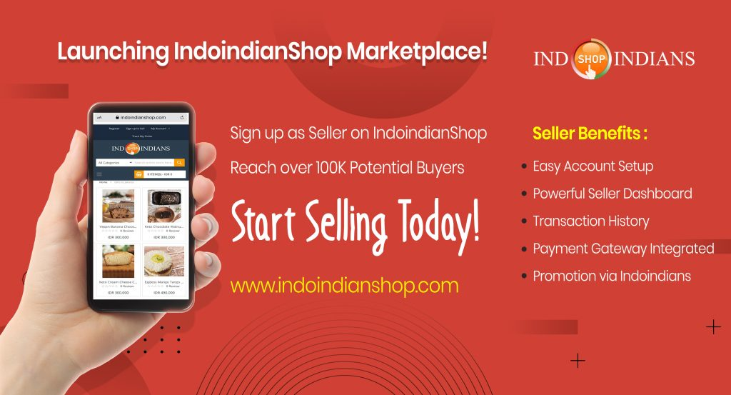 Be a Seller on IndoindianShop Marketplace