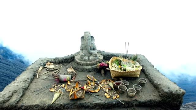 Ganesha Altar at Mt Bromo