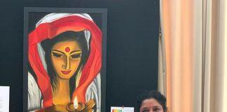 Indoindians Artist Spotlight Shanthi Seshadri