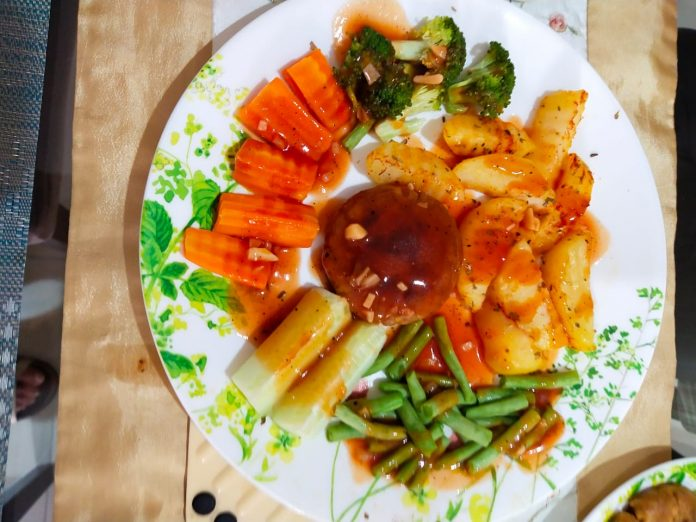 Tempeh-Steak-with-Bbq-Sauce-by-Sushila-Mahtani