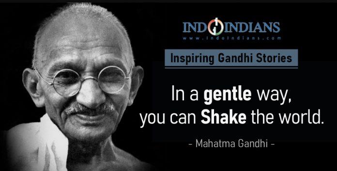 Indoindians Online Event Inspiring Gandhi Stories on Friday, 2nd Oct - 11am