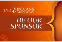 Be Sponsor at Indoindians Diwali eBazaar 1st Nov 2020
