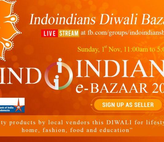 Indoindians Diwali eBazaar with sponsor