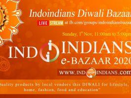 Online Indoindians Diwali Bazaar 2020