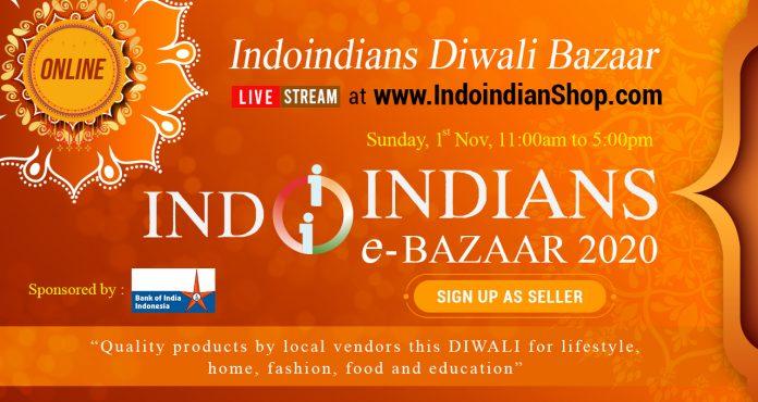 Online Indoindians Diwali eBazaar Nov 1 2020