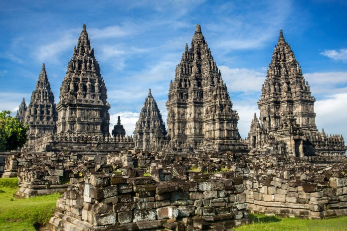 Prambanan Hindu Temple in Jogykarta