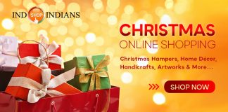 IndoindianShop Christmas shopping