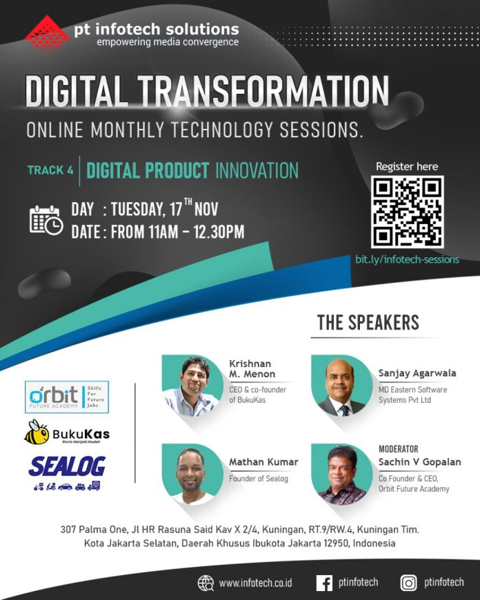 PT Infotech Solutions Digital Transformation Online Sessions Track 4