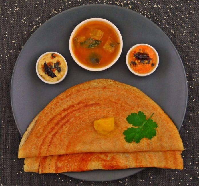 Little Millet (Samai Rice) Dosai Recipe by Shanthi Seshadari