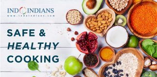 Indoindians Online Event - Safe and Healthy Cooking Shooking