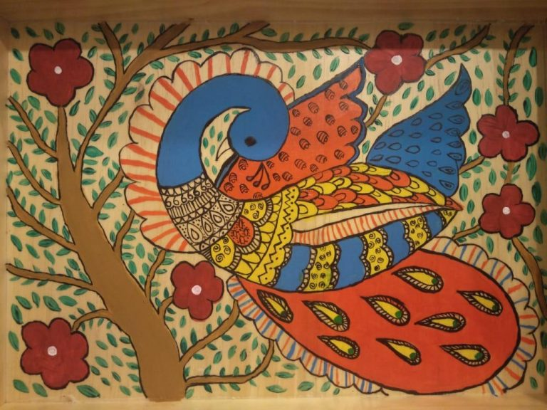 Indoindians Online Event: Learn Madhubani Painting with Meha Agarwal