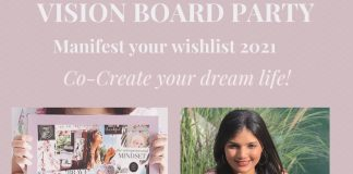 Indoindians Vision Board Party with Mansi
