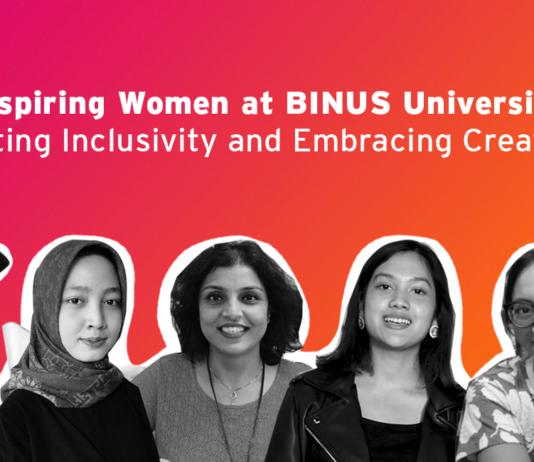 Inspiring women at BINUS