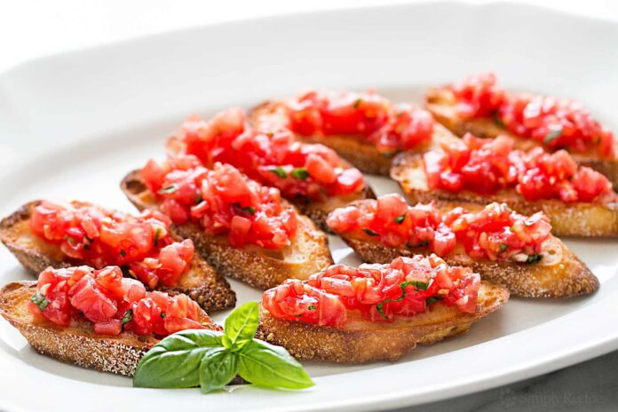 6 Delicious Ways To Use Stale Bread: Bruschetta