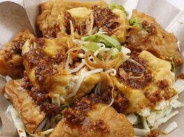 9 Delicious Tofu Dishes In Indonesia: tahu gimbal