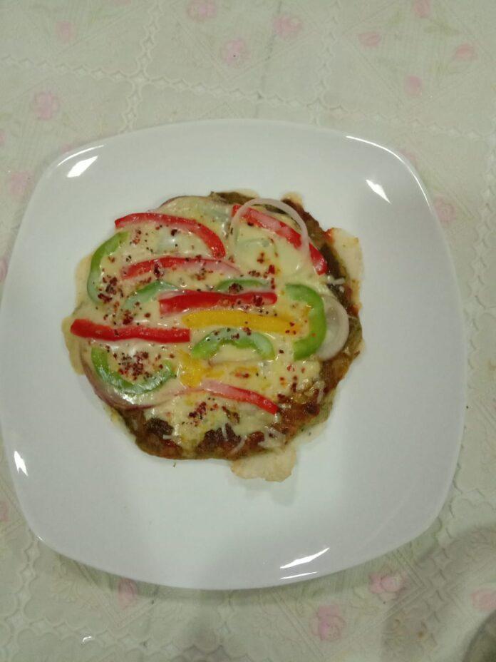 Chilla Pizza by Aparna Narang