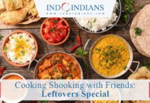 Indoindians Online Event Cooking Shooking with Friends Leftovers Special