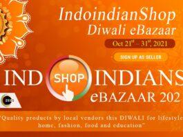 Be a Sponsor at Indoindianshop diwali ebazaar 2021