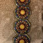 Shathi Seshadri's Coasters with Dot Painting