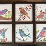 Decorative trays by Shanthi Seshadri