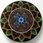 Mandala-Dot painting by Shanthi Seshadri