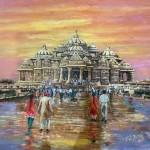 Akshardham temple by Vijaya Rani Birla