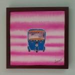 Autorickshaw Pink by Jumana Mohammed Qayyumi