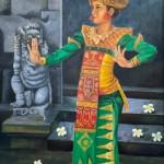 Balinese dancer by Vijaya Rani Birla