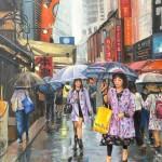 Cityscape of Tokyo by Vijaya Rani Birla