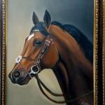 Graceful Horse by Arupa Panigrahi