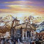 Kedarnath temple by Vijaya Rani Birla