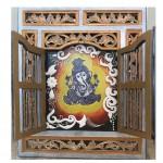 Lord Ganesha in jharokha style by Vibha Singh