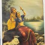 Radha and Madhav by Madhushree Bansal