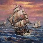 Sailing with the wind by Vijaya Rani Birla