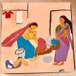 Village Series 2 by Arti Gidwani