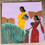 Village Series 3 by Arti Gidwani