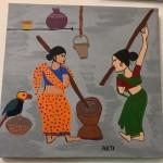 Village Series 4 by Arti Gidwani