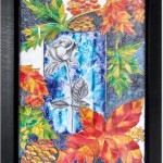 Garden of Love glass painting by Vibha Singh