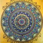 Golden Mandala by Vibha Singh