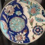 Ceramic Plate (circular) by Jyoti Joshi