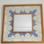 Mirror frame with Tezhip design by Jyoti Joshi